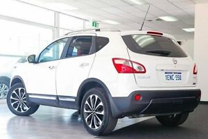 2013 Nissan Dualis J10W Series 3 MY12 Ti-L Hatch X-tronic 2WD White 6 Speed Constant Variable Victoria Park Victoria Park Area Preview