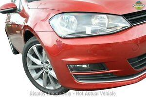 2015 Volkswagen Golf VII MY16 110TDI DSG Highline Red 6 Speed Sports Automatic Dual Clutch Hatchback Frankston Frankston Area Preview