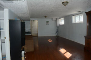 Walkout basement for rent.