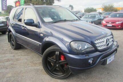 2001 Mercedes-Benz ML55 W163 AMG Blue 5 Speed Auto Seq Sportshift Wagon Wangara Wanneroo Area Preview