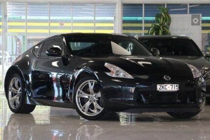 2012 Nissan 370Z Z34 MY11 Black 6 Speed Manual Coupe