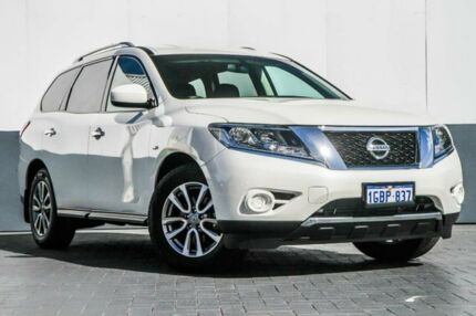2016 Nissan Pathfinder R52 MY16 ST X-tronic 2WD White 1 Speed Constant Variable Wagon Maddington Gosnells Area Preview