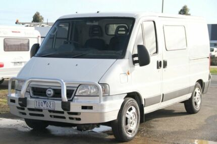 2005 Fiat Ducato SWB White 5 Speed Manual Van Carrum Downs Frankston Area Preview