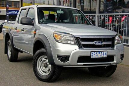 2010 Ford Ranger PK XL Super Cab Hi-Rider Silver 5 Speed Manual Utility Preston Darebin Area Preview