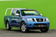 2010 Nissan Navara D40 MY10 ST-X Blue 5 Speed Automatic Utility Ringwood East Maroondah Area Preview