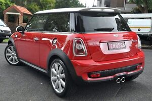 2009 Mini Cooper R56 S Red 6 Speed Manual Hatchback Mosman Mosman Area Preview