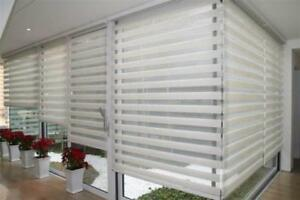 BEST PRICE WINDOW COVERING, ZEBRA BLINDS, ROLLER SHADES, VERTICAL, ALUMINIUM, SHUTTERS. EUROPEAN QUALITY, ON SALE NOW!.