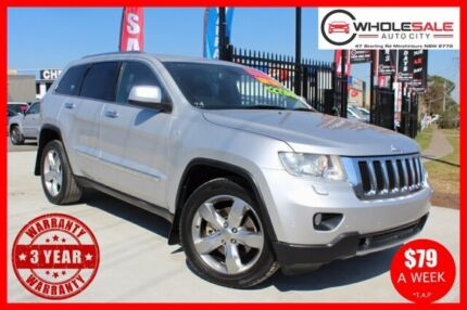 2011 Jeep Grand Cherokee WK Limited Wagon 5dr Spts Auto 5sp 4x4 3.0DT [MY11]