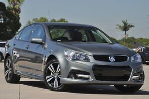 2015 Holden Commodore VF MY15 SV6 Storm Grey 6 Speed Automatic Sedan Greenacre Bankstown Area Preview