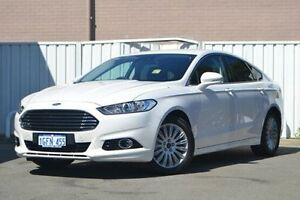 2016 Ford Mondeo MD Trend PwrShift White 6 Speed Sports Automatic Dual Clutch Hatchback Woodbridge Swan Area Preview