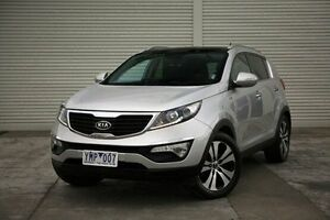 2011 Kia Sportage SL Platinum Silver 6 Speed Sports Automatic Wagon Seaford Frankston Area Preview