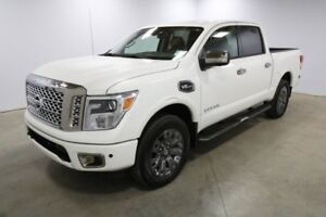 2017 Nissan Titan 4WD CREW PLAT RESERV Accident Free,  Navigatio