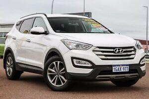 2015 Hyundai Santa Fe DM3 MY16 Elite White 6 Speed Sports Automatic Wagon East Rockingham Rockingham Area Preview