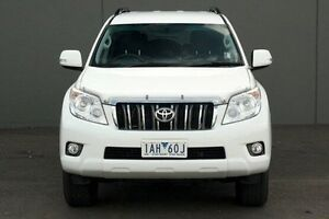 2013 Toyota Landcruiser Prado White Sports Automatic Wagon Cranbourne Casey Area Preview