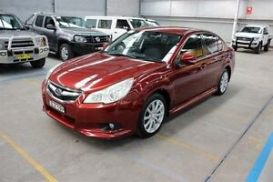 2009 Subaru Liberty B5 MY10 2.5i Lineartronic AWD Red 6 Speed Constant Variable Sedan Maryville Newcastle Area Preview