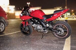 2006 SV650S with race tech springs