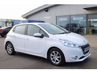 PEUGEOT 208 1.4 ACTIVE HDI 5d 68 BHP - 360 SPIN ON WEBSITE (white) 2014
