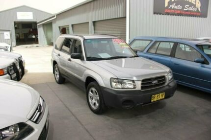 2005 Subaru Forester MY05 X Silver 4 Speed Automatic Wagon Mitchell Gungahlin Area Preview