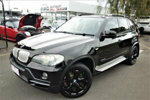 2009 BMW X5 E70 MY10 xDrive35d Steptronic Black 6 Speed Sports Automatic Wagon Seaford Frankston Area Preview