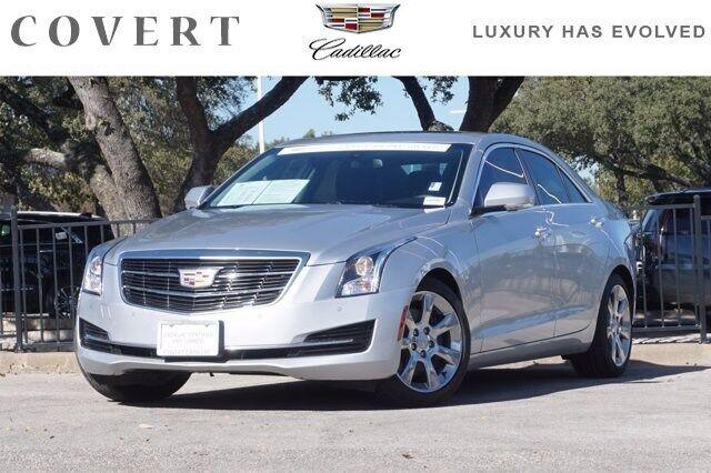 2016 Cadillac ATS Sedan Luxury 31476 Miles Radiant Silver Metallic 4dr Car Turbo