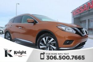 2017 Nissan Murano Platinum - Heated & Cooled Leather Seats - Ac