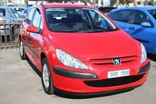 2003 Peugeot 307 T5 MY03 XS Red 4 Speed Sports Automatic Hatchback Moorabbin Kingston Area Preview
