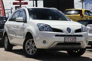 2009 Renault Koleos H45 Dynamique White 6 Speed Manual Wagon