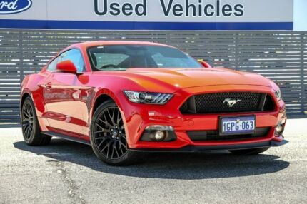 2017 Ford Mustang FM 2017MY GT Fastback SelectShift Red 6 Speed Sports Automatic Fastback Maddington Gosnells Area Preview