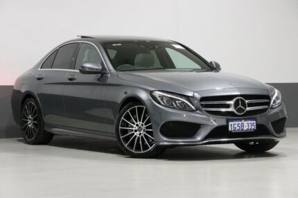 2017 Mercedes-Benz C300 205 MY17.5 Grey 9 Speed Automatic G-Tronic Sedan Bentley Canning Area Preview