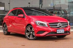 2014 Mercedes-Benz A200 CDI W176 D-CT Red 7 Speed Sports Automatic Dual Clutch Hatchback Osborne Park Stirling Area Preview