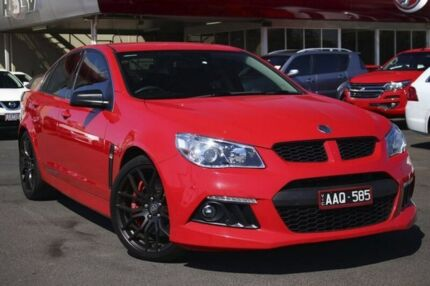 2013 Holden Special Vehicles Clubsport GEN-F MY14 Red 6 Speed Manual Sedan