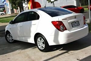 2012 Holden Barina White Automatic Sedan Cranbourne Casey Area Preview