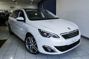 2015 Peugeot 308 T9 Allure Touring Premium White 6 Speed Sports Automatic Wagon Dandenong Greater Dandenong Preview