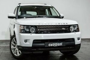 2012 Land Rover Range Rover Sport L320 12MY SDV6 CommandShift White 6 Speed Sports Automatic Wagon Rozelle Leichhardt Area Preview