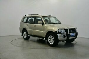2013 Mitsubishi Pajero NW MY13 GLX-R Sand 5 Speed Sports Automatic Wagon