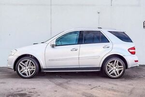 2010 Mercedes-Benz ML63 W164 MY10 AMG Silver 7 Speed Sports Automatic Wagon Myaree Melville Area Preview