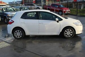 2011 Toyota Corolla ZRE152R MY11 Ascent White 4 Speed Automatic Hatchback South Maitland Maitland Area Preview