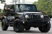 2013 Jeep Wrangler JK MY2013 Unlimited Sport Black 6 Speed Manual Softtop Windsor Brisbane North East Preview