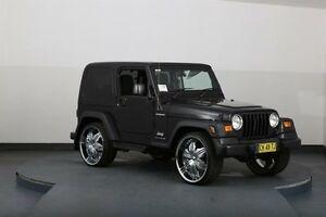 2005 Jeep Wrangler TJ Sport (4x4) Black 4 Speed Automatic Softtop Smithfield Parramatta Area Preview