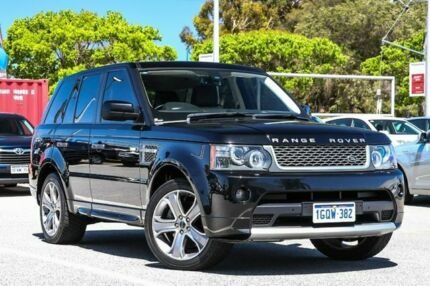 2011 Land Rover Range Rover Sport Black Sports Automatic Wagon Welshpool Canning Area Preview