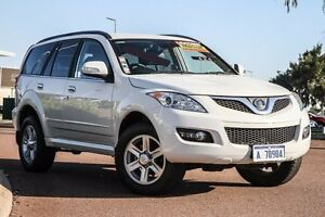 2013 Great Wall X240 CC6461KY MY12 White 5 Speed Manual Wagon East Rockingham Rockingham Area Preview
