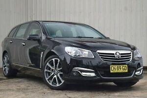2016 Holden Calais VF II V Black 6 Speed Automatic Sportswagon Homebush Strathfield Area Preview