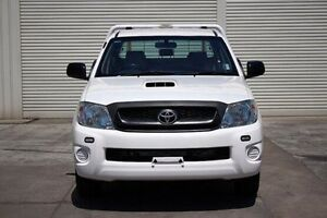 2011 Toyota Hilux KUN16R MY10 SR White 5 Speed Manual Utility Seaford Frankston Area Preview