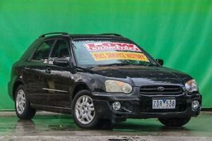 2004 Subaru Impreza S MY04 GX AWD Black 4 Speed Automatic Sedan Ringwood East Maroondah Area Preview
