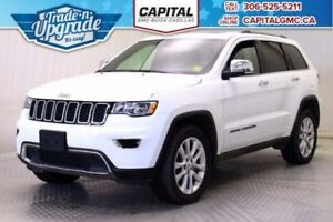2017 Jeep Grand Cherokee Limited 4WD*Leather-Sunroof-Navigation*