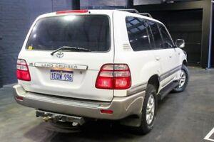 2004 Toyota Landcruiser UZJ100R Sahara White 5 Speed Automatic Wagon
