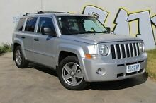 2007 Jeep Patriot MK MY2007 Sport Silver 6 Speed Manual Wagon Derwent Park Glenorchy Area Preview