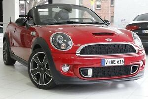 2012 Mini Cabrio R57 LCI Cooper S Steptronic Red 6 Speed Sports Automatic Convertible North Melbourne Melbourne City Preview