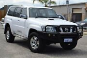 2012 Nissan Patrol Y61 GU 8 ST White 4 Speed Automatic Wagon Pearsall Wanneroo Area Preview