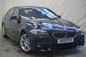 2012 BMW 5 Series 2.0 520D M SPORT 4d 181 BHP Diesel black Manual